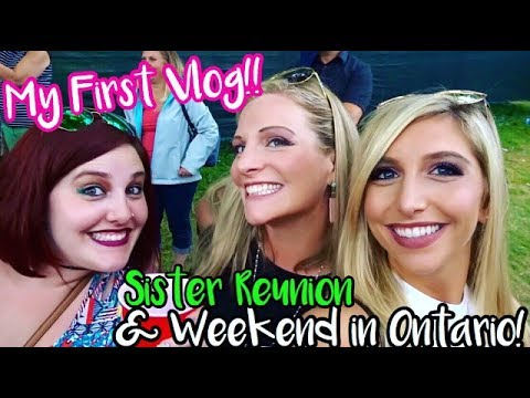 Weekend Vlog 2017 Our Trip to Ontario!  My First Vlog Ever!