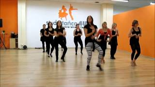 Latino Ladies. STUDIO TAŃCA 4U. Justyna Lewandowska i jej kursantki. Bailando.