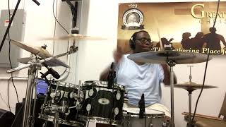 John P. Kee: I Made it Out DRUM COVER!!