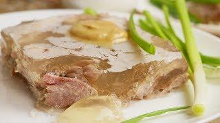 Холодец из РУЛЬКИ, цыганка готовит. Gipsy cuisine.