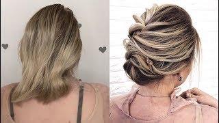 ПРОСТАЯ ПРИЧЕСКА НА КОРОТКИЕ ВОЛОСЫ | HAIR TUTORIAL SHORT HAIR