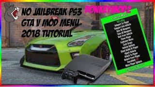 GTA V Mod Menu No Jailbreak PS3 Need 2018