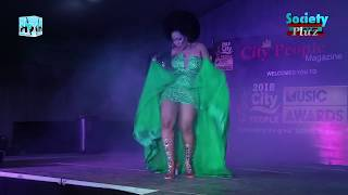 MUMA GEE AGAIN TELLS FANS AM NOT TIRED AS SHE PERFORMS HER NEW SINGLE