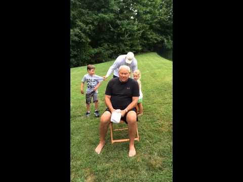 Coach Phillip Fulmer -  ALS Ice Bucket Challenge 2014