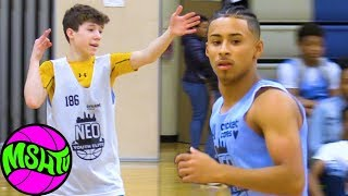 The White Julian Newman, #1 5th Grader in the Country at 2019 NEO Youth Elite Camp