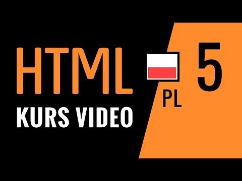 Kurs HTML odc. 5: Nowe znaczniki HTML5