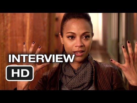 Star Trek Into Darkness Interview - Zoe Saldana (2013) - Chris Pine Movie HD