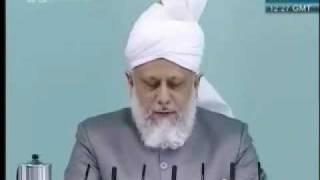 Проповедь Хазрата Мирзы Масрура Ахмада, (07-05-10) часть 2