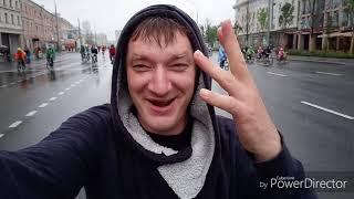 Смотреть видео 20.05.18 велопробег по Садовому Кольцу, встреча с будущим мэром Москвы! онлайн