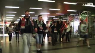 Zbiórka i marsz kibiców Zagłębia Sosnowiec  na Stadion Ludowy