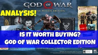 God of War Discussion- IS IT WORTH IT!? Collector Edition Stone Mason