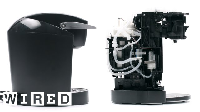tech teardown keurig coffee maker wired