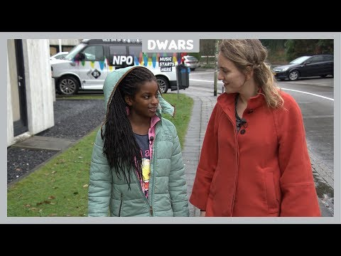 Dwars: Yara (10) wil meer mensen met een donkere huidskleur op tv