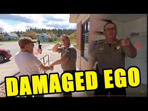 Sundance Wyoming Sheriff Assaults Cameraman, Pulls Him Out of Post Office for *WORDS*