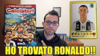 HO TROVATO CRISTIANO RONALDO!! + TANTISSIME ALTRE FIGURINE!! COLLEZIONE CALCIATORI PANINI 2019!!
