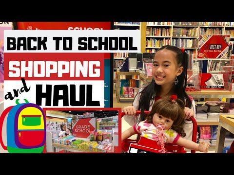 BACK TO SCHOOL SHOPPING + HAUL 2019!   YESHA C.