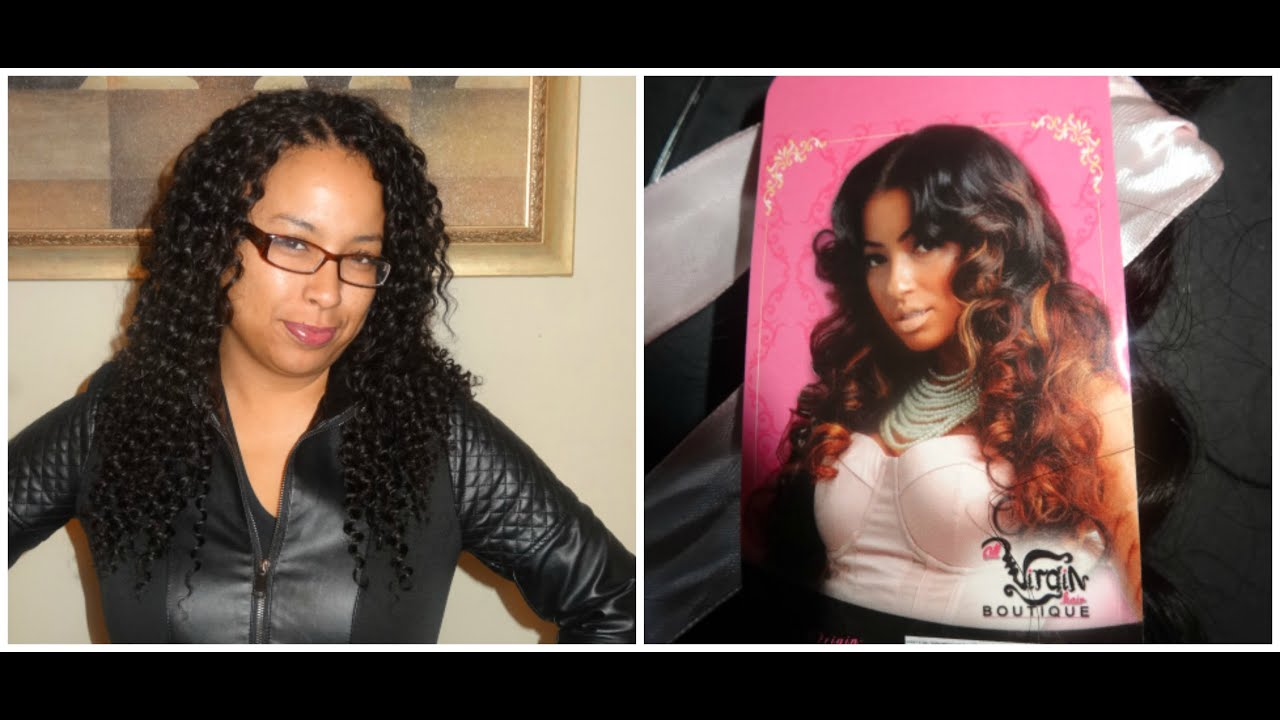 Human Hair Crochet Weave All Virgin Hair Boutique Youtube