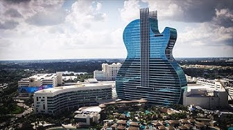 NEW Seminole Hard Rock Hotel & Casino Hollywood, FL #TheGuitarHotel & Poker Room