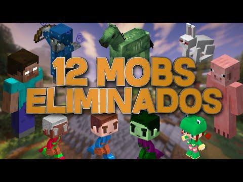 12 MOBS ELIMINADOS QUE NO CONOCÍAS - Redescubriendo Minecraft #10 - elomars88