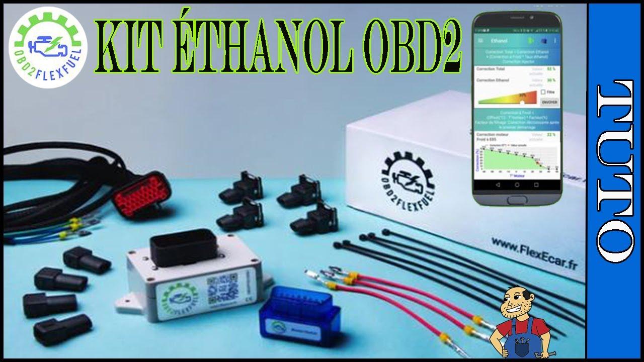 Installation Kit éthanol flexecar