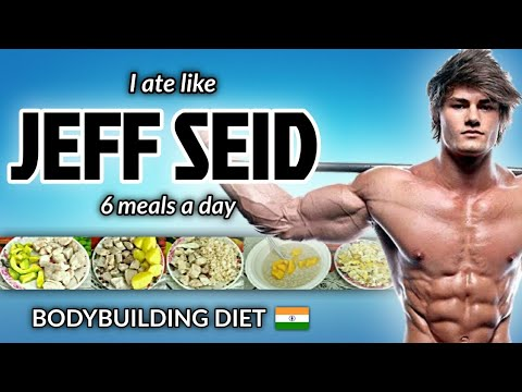 "i-tried-""-jeff-seid-""-bodybuilding-diet-plan-for-a-day-!!-🇮🇳"
