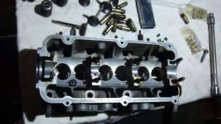 Ремонт ГБЦ Ауді 100 ( ABC ) Заміна направляючих , притирання клапанів .