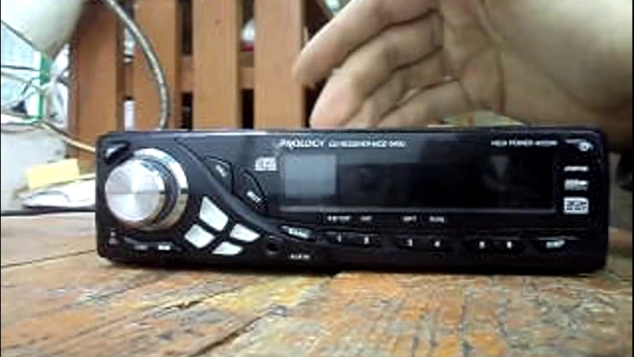 pioneer AVH-X4500DVD - YouTube