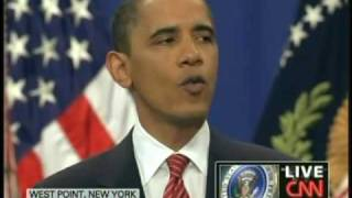 President Obama Afghanistan Speech West Point New York (December 1, 2009) [4/4]