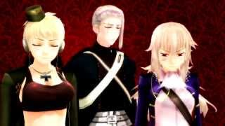 [MMD Hetalia] Somebody that I used to know