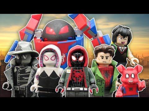 LEGO Spider-Man Into The SpiderVerse Custom Minifigures
