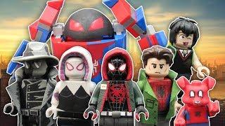 LEGO Spider-Man Into the SpiderVerse Custom Minifigures