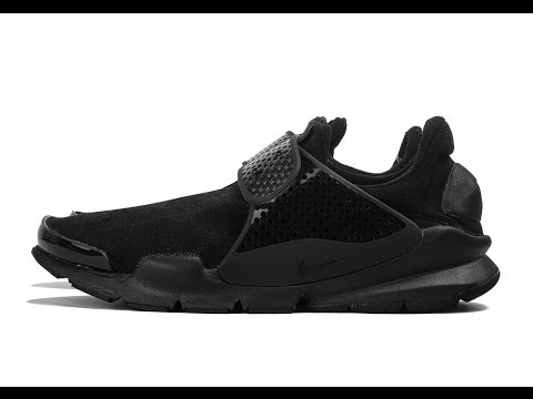 nike-sock-dart-triple-black-review