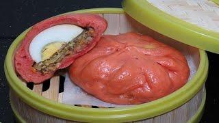 КИТАЙСКИЕ ПАРОВЫЕ БУЛОЧКИ с НАЧИНКОЙ рецепт вьетнамские Бань Бао Баоцзы Bánh bao Steamed Buns