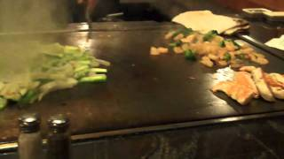 Eating at Yoshida in Asheville NC Japanese Steakhouse Thumbnail