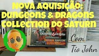 Nova aquisição - Dungeons & Dragons Collection de Sega Saturn