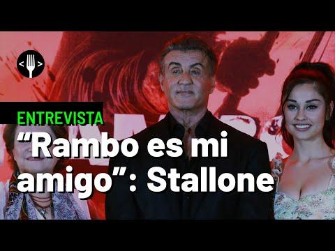 Stallone habla de Rambo y Rocky