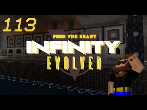 Minecraft: FTB Infinity Evolved - Ep.113 - ME Auto Smelting