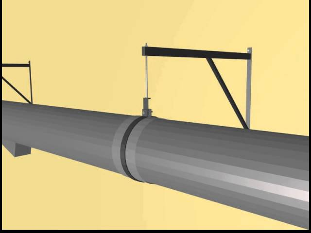 Sustinere tubulatura - Generator aer cald  combustibil solid- Incalzire solarii si sere - SERE IMD
