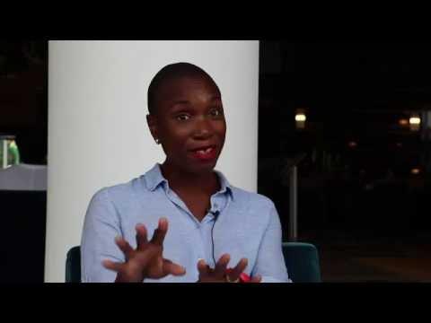 Interview Angela Aquereburu (Yobo Studios) lors du salon Discop - par Africa Salons