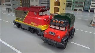 로보카폴리 기차 출동! 장난감 놀이 Robocar Poli Train Dispatch! Toys Play