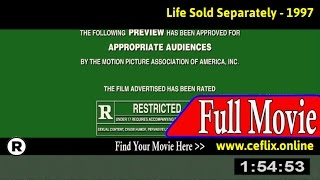 Life Sold Separately (1997) Full Movie Online