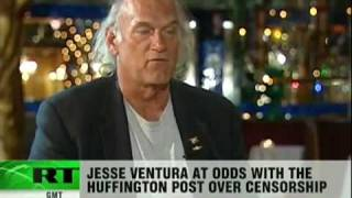 Jesse Ventura censored by The Huffington Post