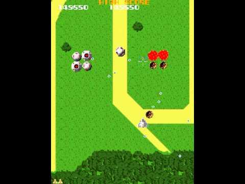 Arcade Game: Xevious (1982 Namco)