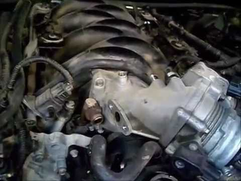 How To Replace The Tstat Housing On An 03 Lincoln Ls 3 9