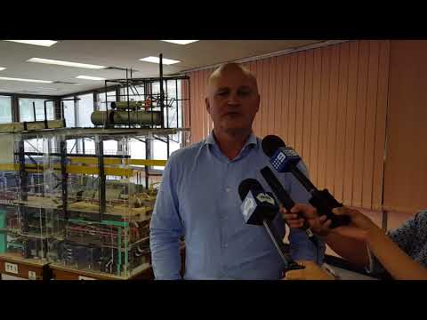 Alinta Energy's Ken Woolley announces the purchase of Loy Yang B Power Station