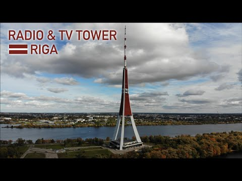 Radio and TV Tower in 🇱🇻 Riga, Latvia