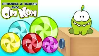 OmNom Stories : Bonbon Géant et Xylophone Couleur | Couleurs pour les enfants
