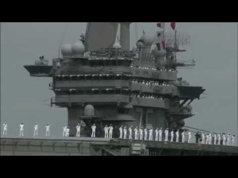 USS Harry S Truman (CVN 75) homecoming broadcast (Part 1 of 3)