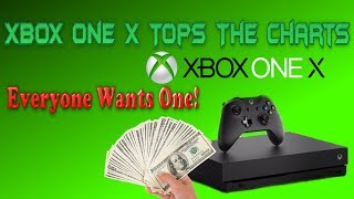 The Xbox One X Is The Most Wish-listed Item Now! The Media & Sony Fanboys Were Hilariously Wrong!