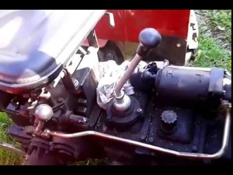 Минитрактор Синтай 220 видео - YouTube